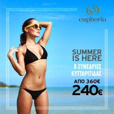 Euphoria Center Ioannina | Θεραπεία σύσφιξης, κυτταρίτιδας και λιπογλυπτικής